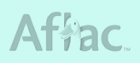 Aflac logo in grey